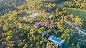 Vue panoramique sur l'établissement Domaine Monte Verdi