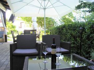 Restoran ili neka druga zalogajnica u objektu B&B Villa Sumrak Rooms