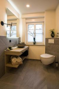 Ein Badezimmer in der Unterkunft Landgasthof Kleiner