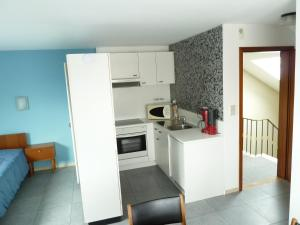 A kitchen or kitchenette at DODO DES ILES
