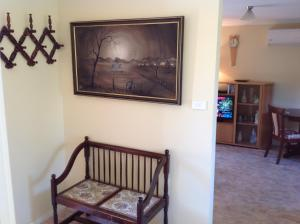 A seating area at The Cook Cottage