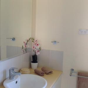 A bathroom at The Cook Cottage