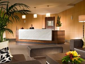 The lobby or reception area at Somerset on Elizabeth Melbourne