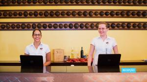 Staff members at Vila Galé Fortaleza