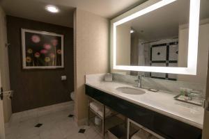 A bathroom at MGM Grand