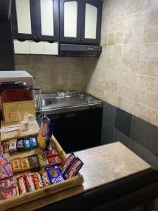 A cozinha ou cozinha compacta de The Landmark Residence
