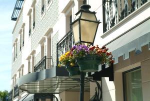 A balcony or terrace at Hotel Moliceiro