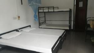 Ein Etagenbett oder Etagenbetten in einem Zimmer der Unterkunft Drop inn Holiday Bungalow