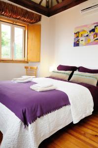 Cama o camas de una habitación en Alfama Terrace