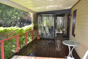 A balcony or terrace at Kedron Cottages
