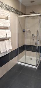 Łazienka w obiekcie Pokoje Hotelowe Figaro