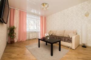 Гостиная зона в Apartment on Osharskaya 15