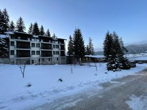 Hotel Merdjan during the winter