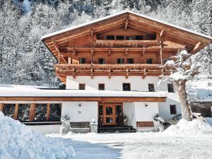 Forellenhof Linde durante o inverno