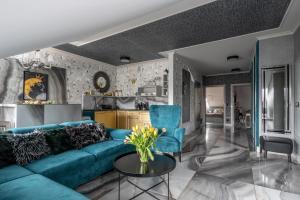 A seating area at Prestige Apartamenty Stara Polana & Spa