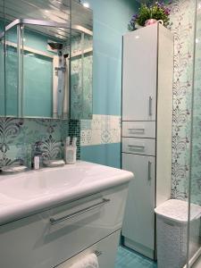 A bathroom at Уютная квартира в Рассказовке