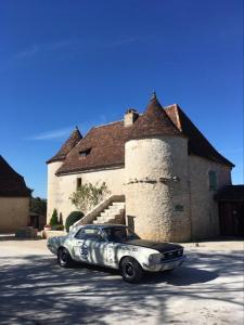 L'établissement Hôtel Les Vieilles Tours Rocamadour en hiver
