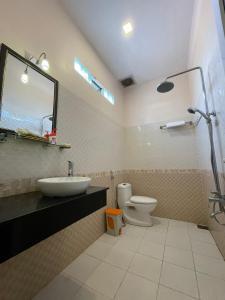 Ванная комната в Bon Bon Bungalow