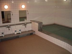 The swimming pool at or near Sapporo International Youth Hostel
