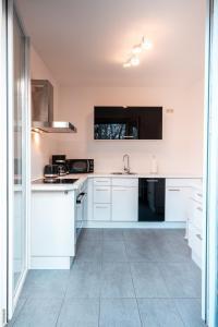 Küche/Küchenzeile in der Unterkunft Hotel Alt-Weimar