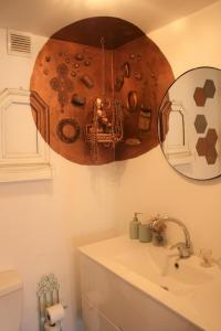 Ein Badezimmer in der Unterkunft Rena's House