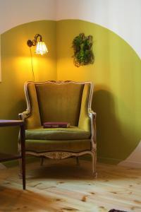 Ein Sitzbereich in der Unterkunft Rena's House