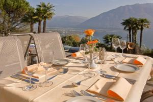 A restaurant or other place to eat at Garten Hotel Dellavalle