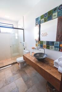 A bathroom at PIER BEACH CLUB