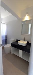 A bathroom at Departamento en Punta Hermosa, playa blanca