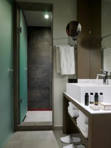 A bathroom at Kakkos Beach Hotel - Adults Only