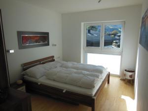 Postel nebo postele na pokoji v ubytování Appartement Silencio by Schladmingurlaub