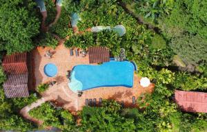 A bird's-eye view of Casa Luna Hotel & Spa