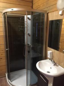 Ванная комната в Гостевой дом Кривцово
