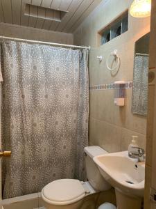 Um banheiro em Hotel Puritama