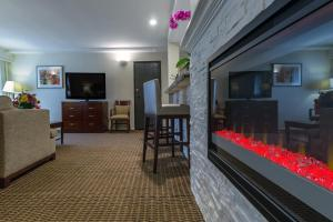 A television and/or entertainment center at Best Western Plus Carpinteria Inn