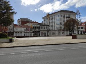 Edificio en el que se encuentra el albergue