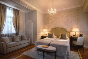 A bed or beds in a room at Amadria Park Hotel Sveti Jakov