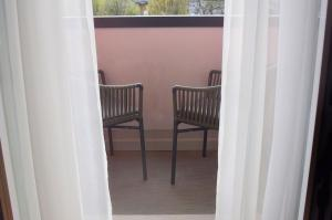 Area soggiorno di Hotel Virgilio