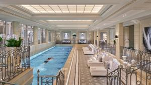 The swimming pool at or near Four Seasons Hotel George V Paris