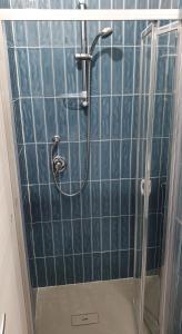 A bathroom at B&B Castelluccio