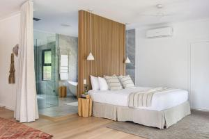 A bed or beds in a room at Cedars Mount View (Adults Only)