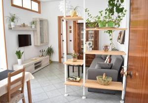 A seating area at Villa Di Martino