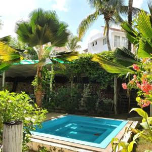 The swimming pool at or close to Riviera Punta Cana Eco Travelers