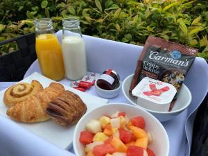 Breakfast options available to guests at Brighton Savoy Hotel