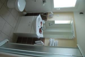 Salle de bains dans l'établissement Résidence Côté Sud Peypin