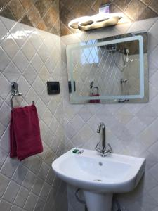 A bathroom at Hotel Rotara