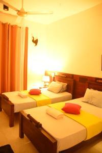 Postel nebo postele na pokoji v ubytování Seyara Holiday Resort