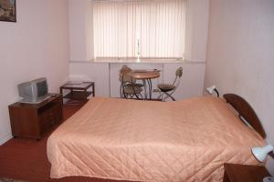 Кровать или кровати в номере Фонтанка Инн