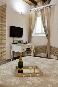 A television and/or entertainment center at Navona Sweet Home