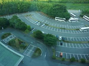 A bird's-eye view of Marroad International Hotel Narita